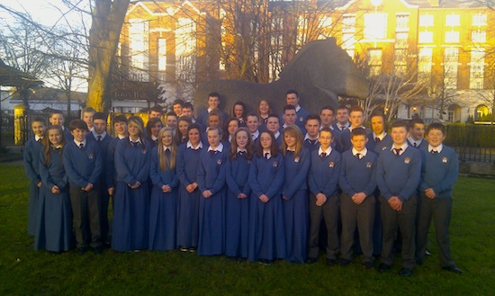 Desmond College students at BTYSTE 2013